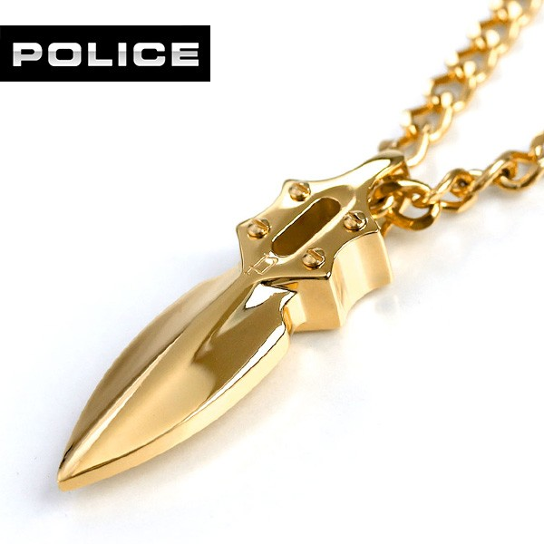 ポリス ネックレス POLICE チェーン アロー ペン...
