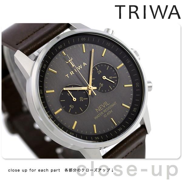 【あす着】トリワ TRIWA ネビル スモーキー 42mm ...