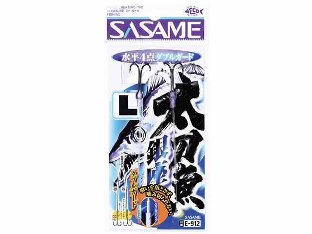ささめ針/SASAME E-912 太刀魚銀座水平4点 ダ...