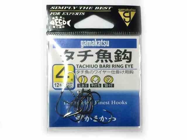 がまかつ/Gamakatsu 66809 タチ魚鈎 NSB ...