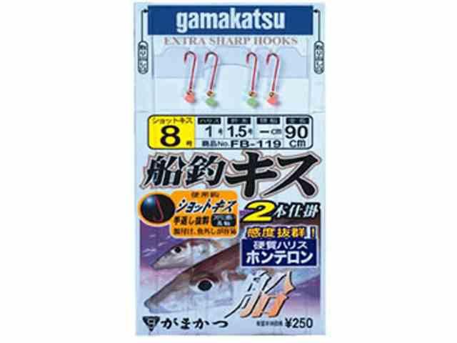 がまかつ/Gamakatsu 45252 キス船釣仕掛 ショ...