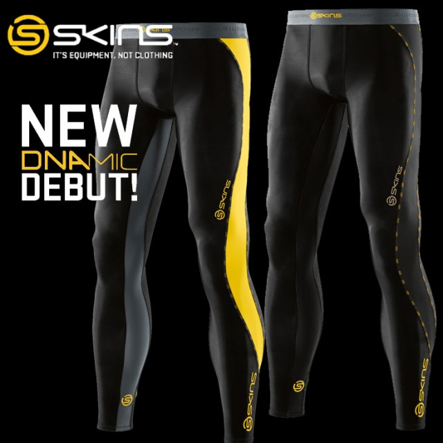 スキンズ メンズ ロングタイツ skins DNAmic  Lon...