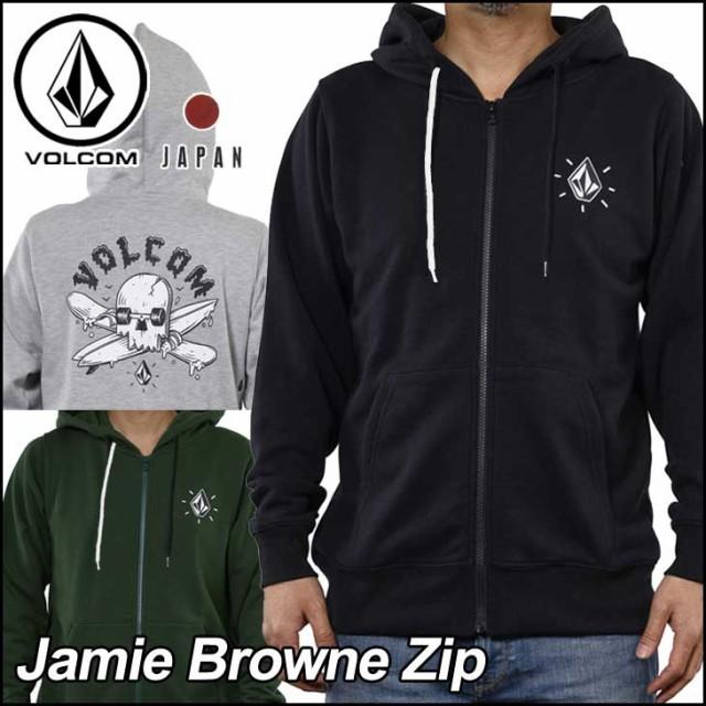 VOLCOM ボルコム パーカー メンズ Jamie Browne Z...