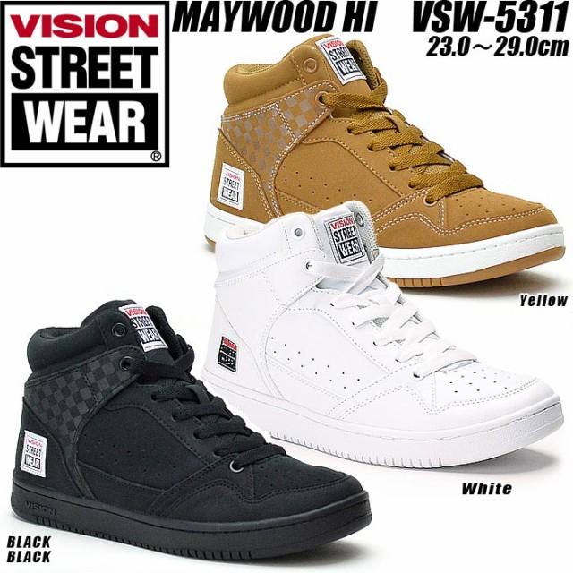 ダンスシューズ ヒップホップ スニーカー ハイカット レディース メンズ VISION vsw5311 ヴィジョン ビジョン