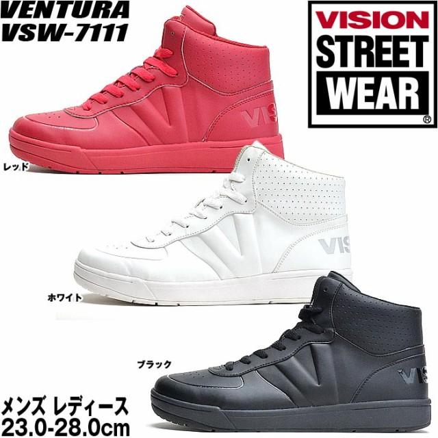 ヴィジョン ビジョン ダンススニーカー レディース メンズ ダンスシューズ ヒップホップ チア ハイカット 女性 男性 黒 白 銀 赤 VSW7111
