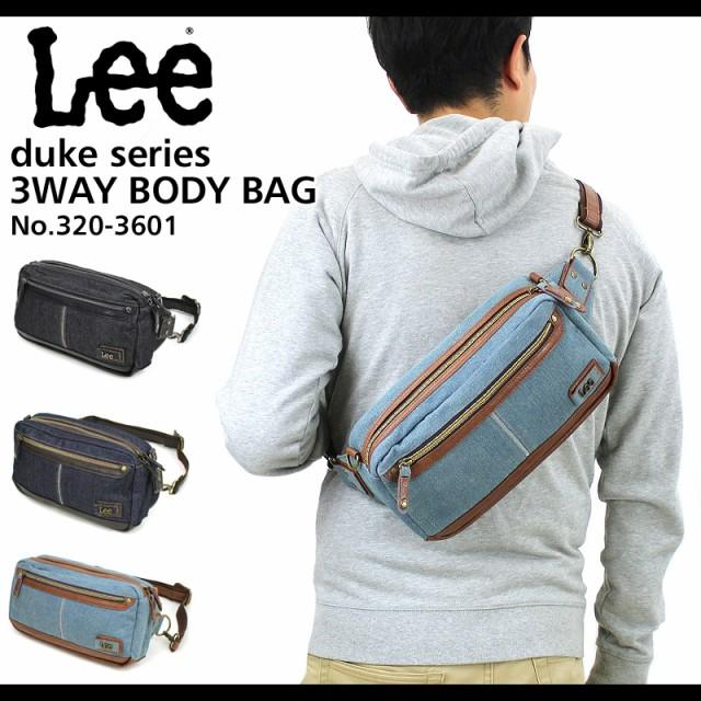 Lee(リー) duke(デューク) ボディバッグ ウエスト...