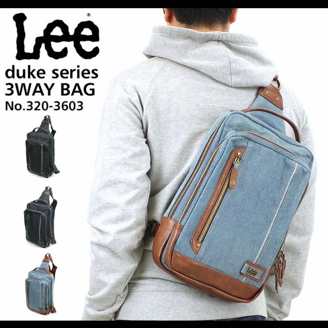 Lee(リー) duke(デューク) ボディバッグ ワンショ...