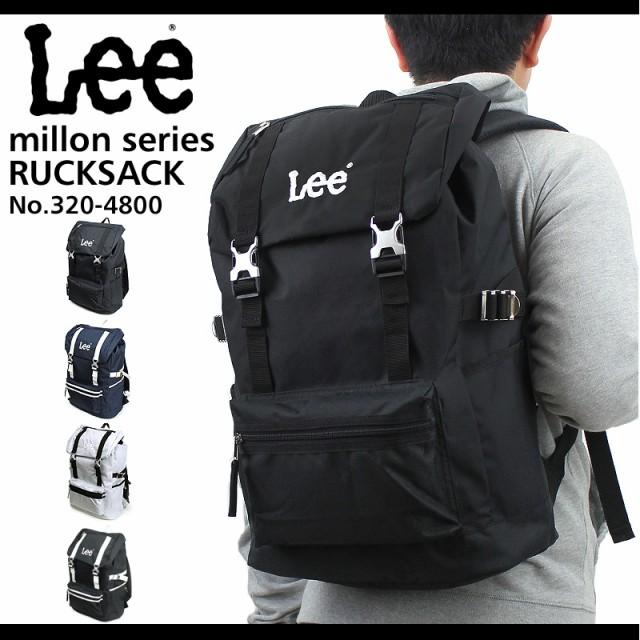 Lee(リー) million(ミリオン) 被せリュック デイ...