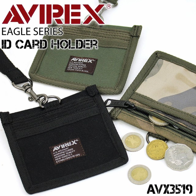 AVIREX(アヴィレkックス) EAGLE(イーグル) IDカ...