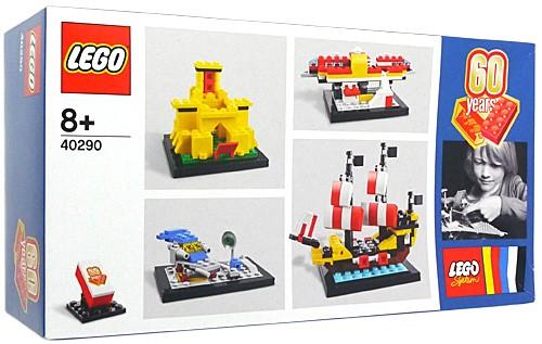 レゴ 60周年アニバーサリーセット 60 years of th...