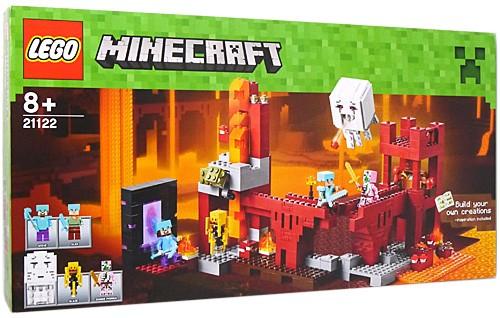 LEGO レゴ マインクラフト ネザー砦 The Nether F...