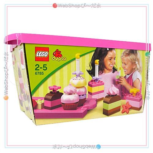 LEGO レゴ デュプロ ピンクのケーキブロックセッ...