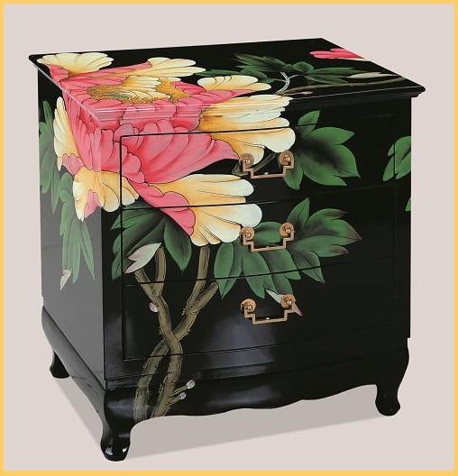 中国伝統家具【受注発注商品】3段チェスト 箪笥