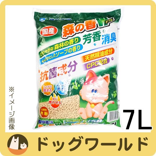 猫砂楽園 森の香りダブル 7L