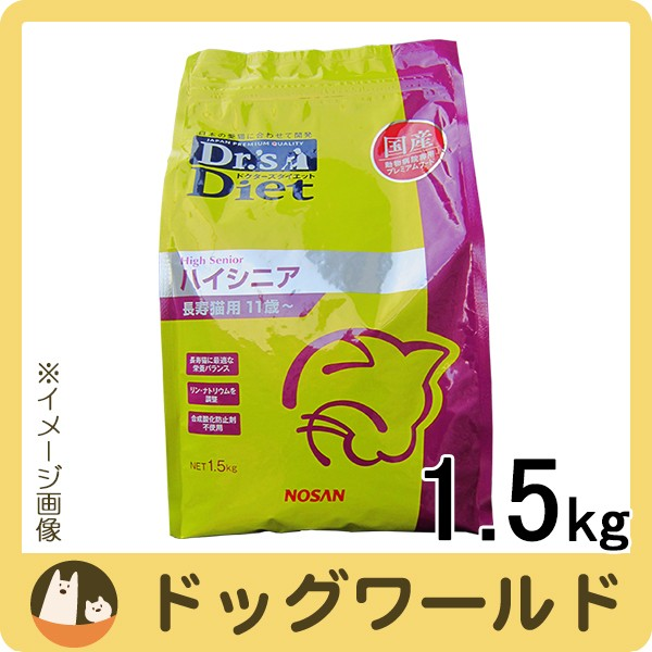 ドクターズダイエット 猫用 ハイシニア 長寿猫用 ...
