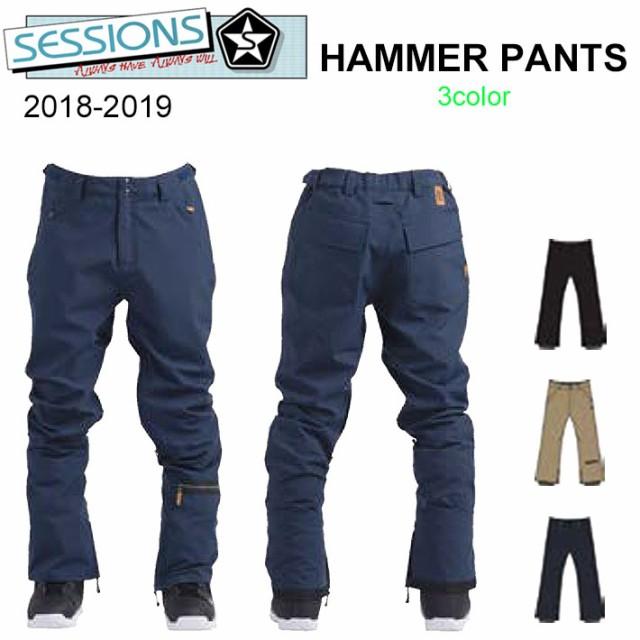 18-19 SESSIONS スノーボードウェア メンズ HAMME...
