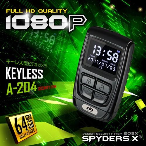 スパイダーズX 1080P モニター付 動画再生 64GB対...