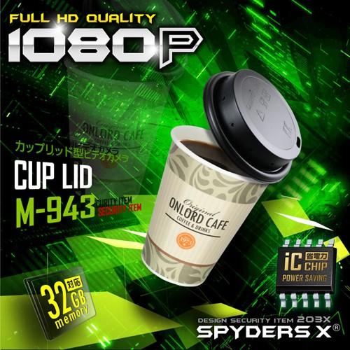 スパイダーズX 小型ビデオカメラ1080P 赤外線暗視...