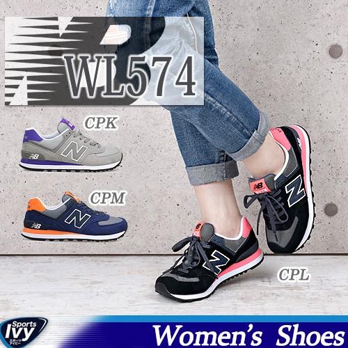 送料無料 ニューバランス NEWBALANCE WL574 CPK/C...