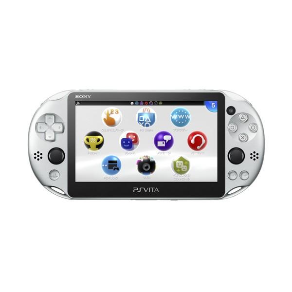 PlayStation?Vita Wi-Fiモデル(PCH-2000シリーズ)シルバー(PCH-2000ZA25) 【送料無料】【PS VITA】【本体】【新品】【新品ゲーム】