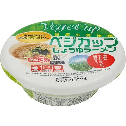 桜井食品 ベジカップしょうゆラーメン 78g