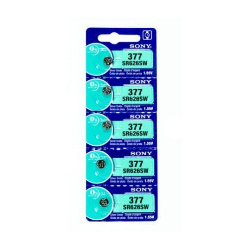 SONY/ソニー 時計用 酸化銀ボタン電池 SR626SW(5...