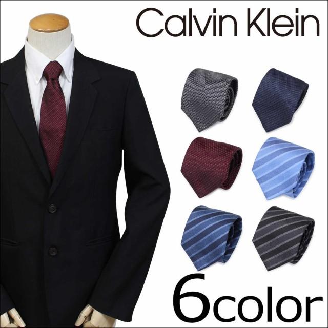 カルバンクライン ネクタイ シルク Calvin Klein ...