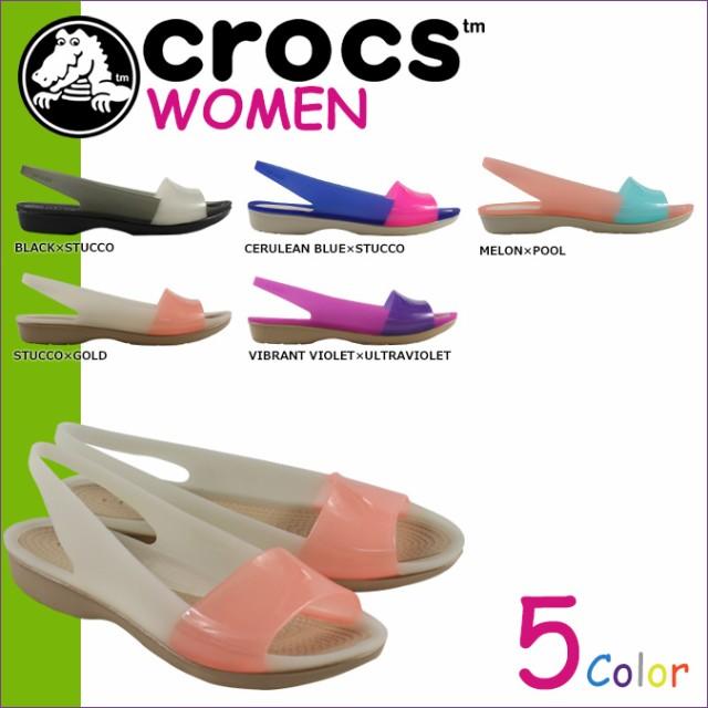 クロックス crocs レディース サンダル パンプス ...