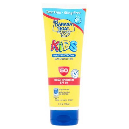 Banana Boat Kids Sunscreen Lotion  SPF 50  8oz...