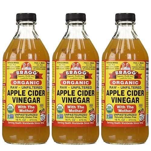 【3本セット】ブラグ アップル サイダー ビネガー...