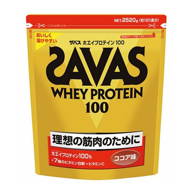 ザバス ホエイプロテイン100 ココア味 120食分 (...
