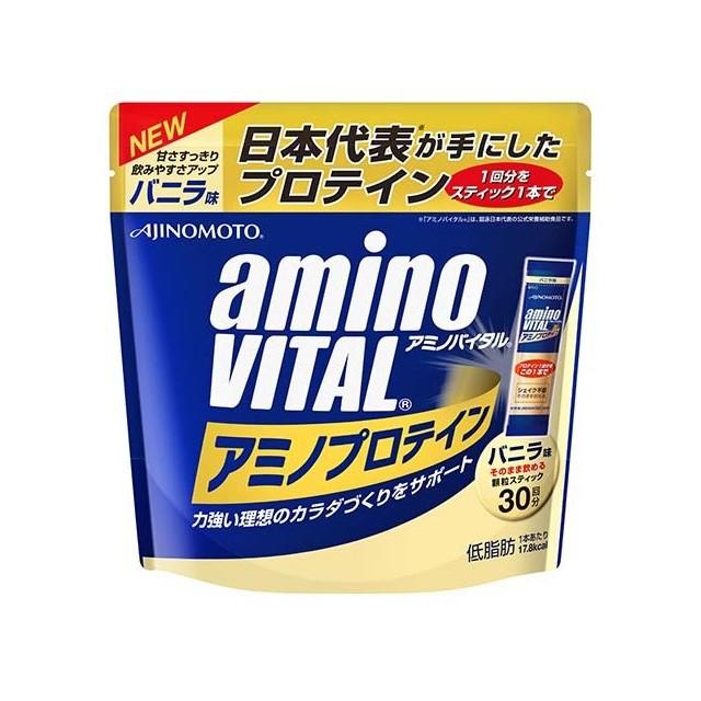 アミノバイタル アミノプロテイン バニラ味 30本...