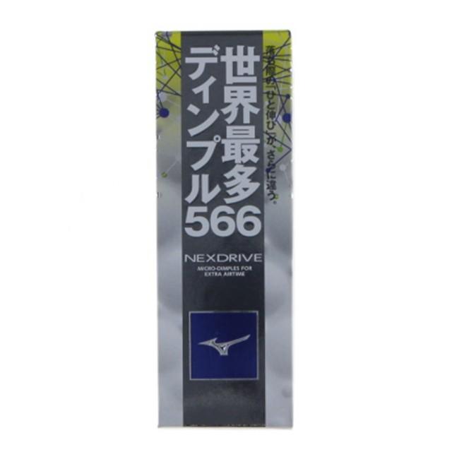 ミズノ NEXDRIVE 5NJBM328 10 ゴルフボール 1スリ...