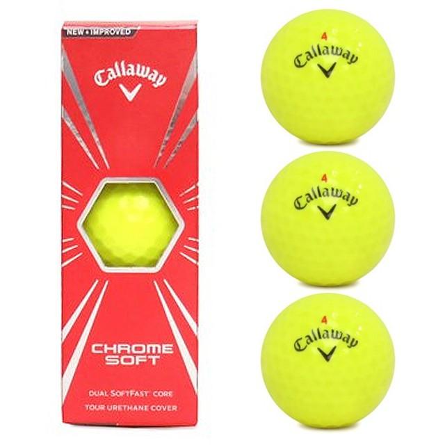 キャロウェイ Callaway ゴルフ ボール CHROM SOF...