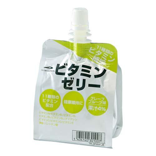 スポーツゼリー グレープフルーツ味 ビタミンゼリ...