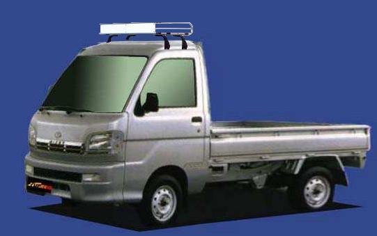 ★TUFREQ ルーフキャリア ハイゼットトラック S20...