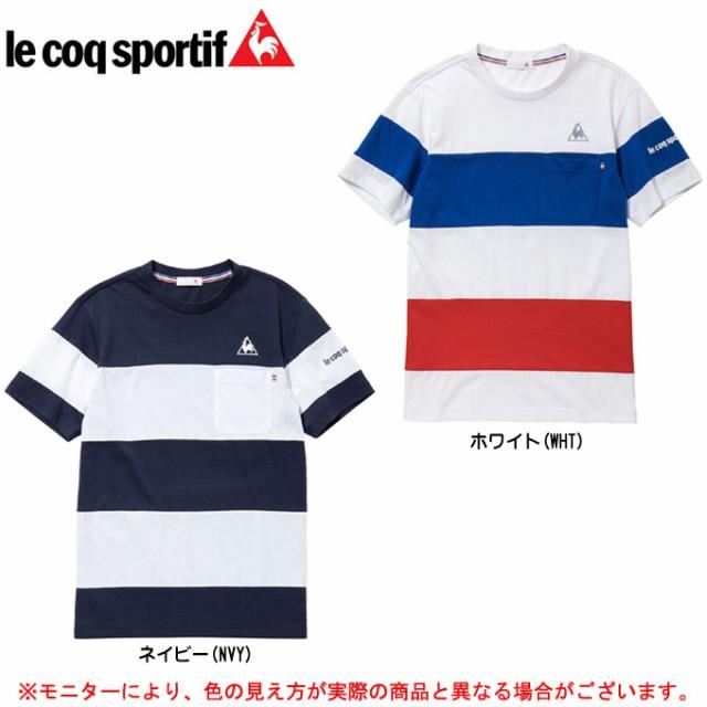 le coq(ルコック)半袖シャツ(QB010573)スポー...