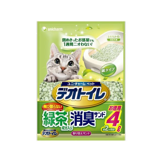 ユニ・チャーム 1週間消臭・抗菌デオトイレ飛び...