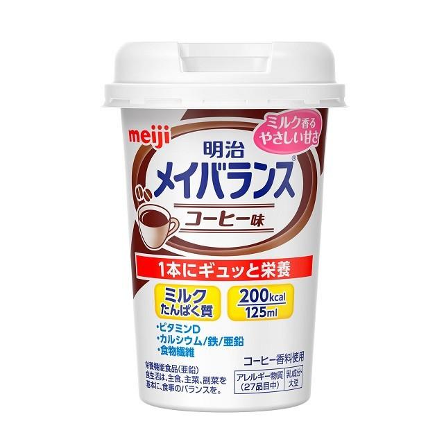 明治 メイバランス Miniカップ コーヒー味...