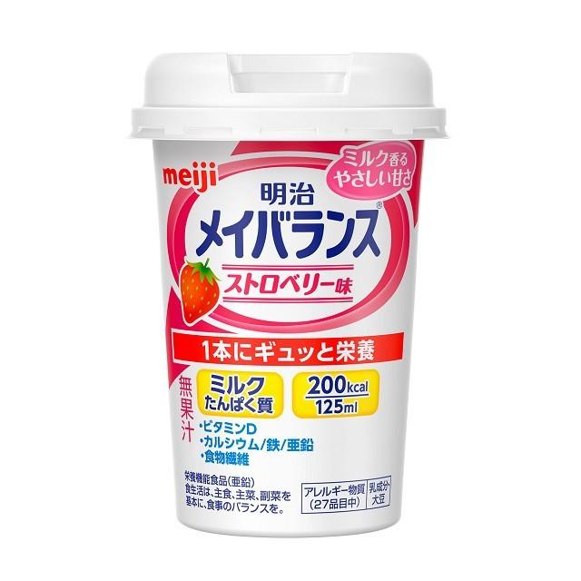 明治 メイバランス Miniカップ ストロベリ...