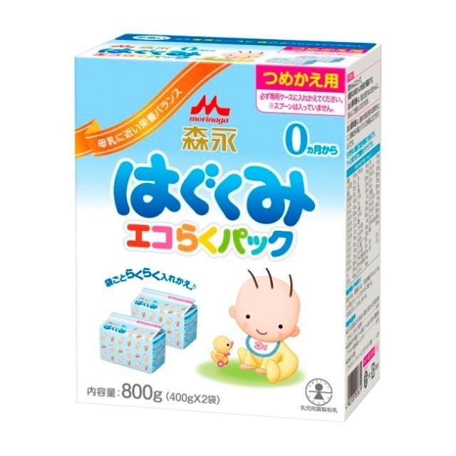 森永乳業 エコらくパック 詰替用 はぐくみ 4...