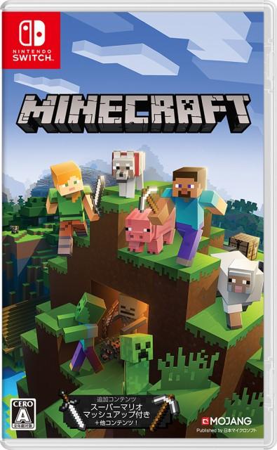 【発売日前日出荷★新品】NSW Minecraft【2018年0...
