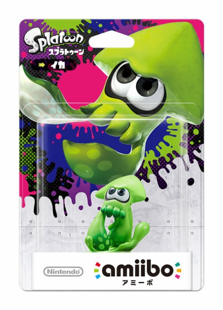 Wii U amiibo イカ(スプラトゥーンシリーズ)