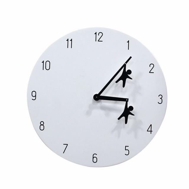 スパイス EDGE HANGING MAN 30cm 壁掛け時計 シン...
