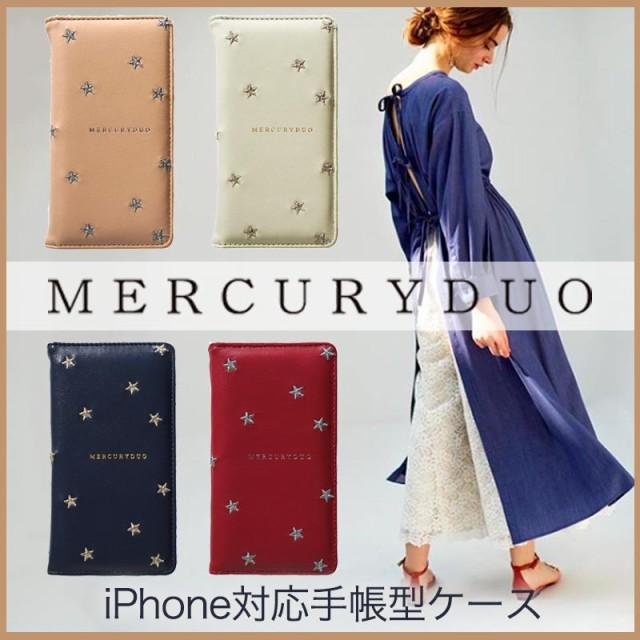 iPhoneX/8/7/6s/6 手帳型ケース MERCURY DUO マー...