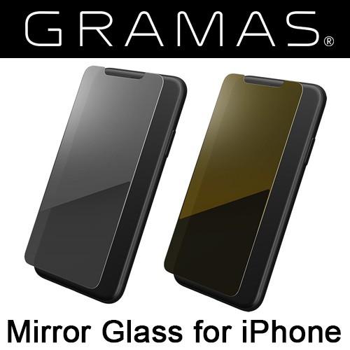 iphonex ガラス ミラータイプ GRAMAS グラマス ガ...
