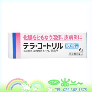 【メール便対応可能!】テラ・コートリル軟膏 6g...