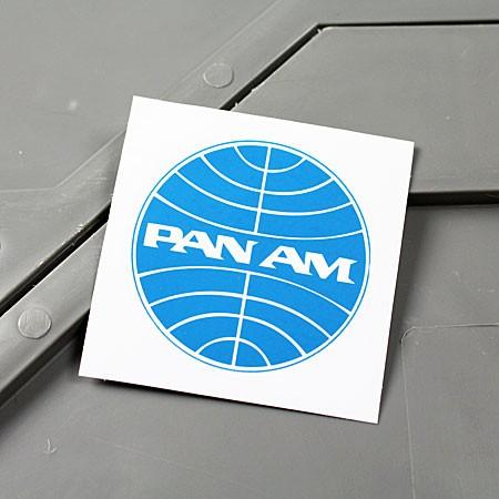 ステッカー パンナム PAN AM バイク 車 アメリカ...