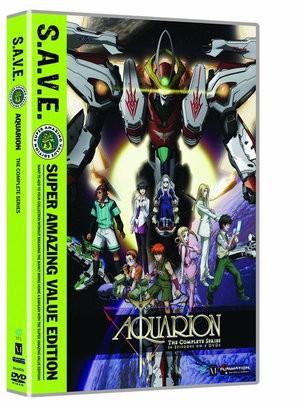 創聖のアクエリオン DVD (全26話 630分収録 北米...