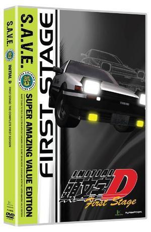 頭文字D 1st Stage 廉価版 DVD (全26話 650分収録...